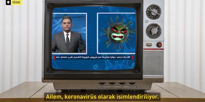 Aletejah TV'de koronavirüsle röportaj yapılması izleyenleri şaşırttı!