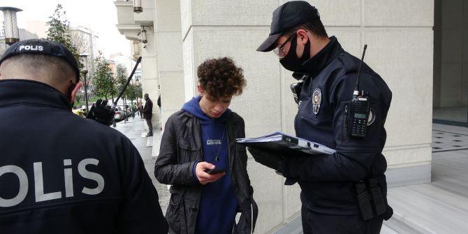 Denetimlerde yakalanan genç cezayı yiyince ''Problem değil'' dedi!