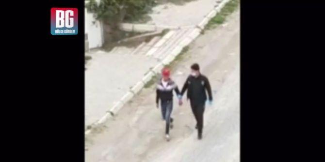 Yasağa uymayan gençler kaçtı, polis kovaladı!