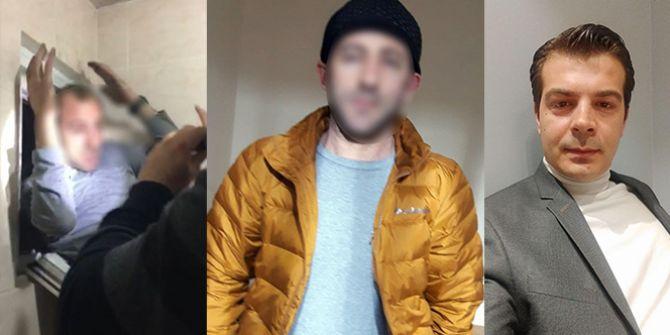 Esenyurt'ta katil zanlısı tuvalet camından kaçmaya çalışırken yakalandı!