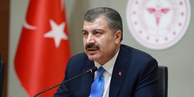 Sağlık Bakanı Fahrettin Koca, Türkiye'nin koronavirüs haritasını paylaştı