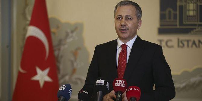 İstanbul Valisi Yerlikaya'dan maske ve kolonya hakkında açıklama