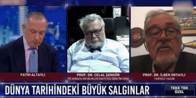Ünlü yer bilimci profesör Celal Şengör canlı yayında uyuyakaldı!