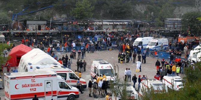 Soma'da maden ocağında göçük! 1 ölü