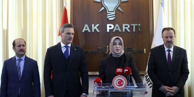 AK Parti Grup Başkanvekili Özlem Zengin, gündeme dair açıklamalarda bulundu