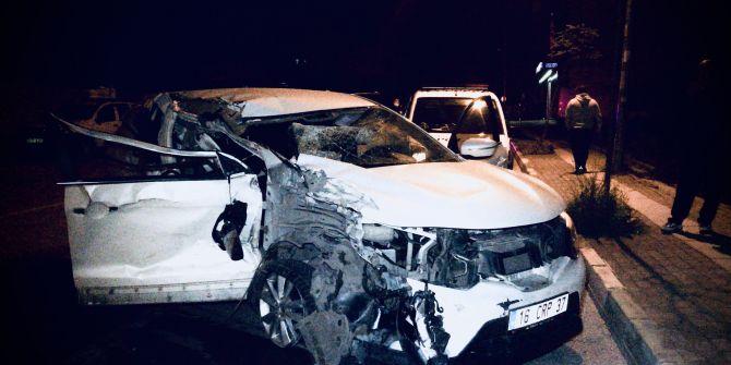 Bursa'da dezenfektan kazası: 3 yaralı