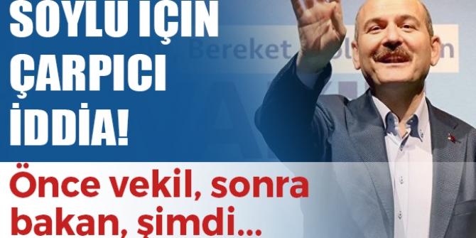 CHPli Barış Yarkadaş'tan şok iddia! Süleyman Soylu İBB Başkanı mı olacak?