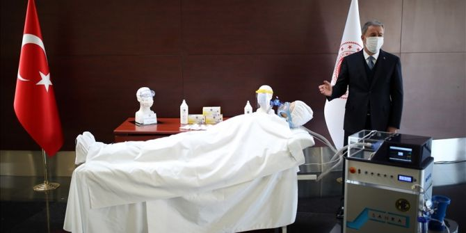 Milli Savunma Bakanı Hulusi Akar'dan yerli solunum cihazı ile ilgili açıklama!