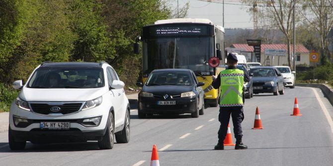 Yasağa saatler kala trafik denetiminde vatandaşa ceza yağdı!