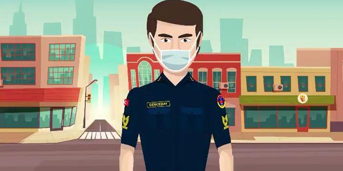 Jandarma'nın paylaştığı Orhan Gencebay animasyonlu klibi büyük beğeni topladı!