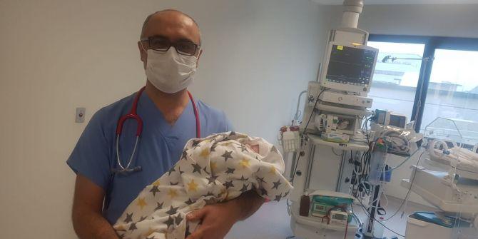 Bursa'da 18 günlük bebekten müjde! Koronavirüsü yendi