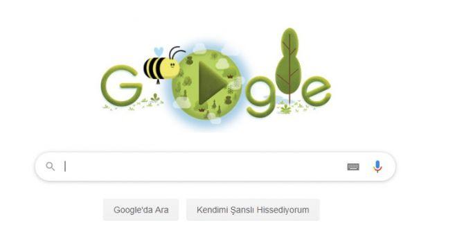 Google, Dünya Günü için özel doodle yayınladı!