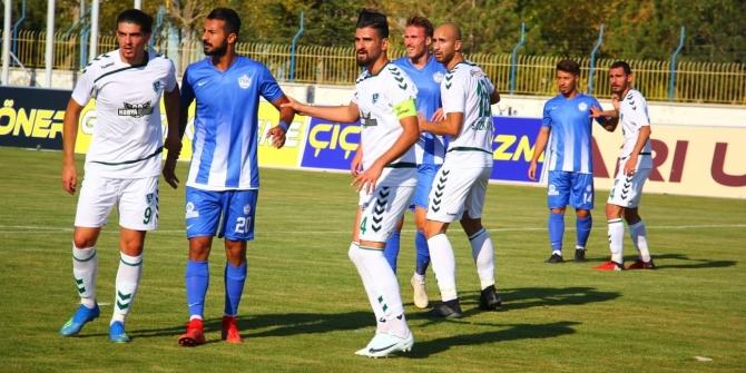 Tuzlaspor Konya'dan son dakika golü ile 1 puan alarak döndü