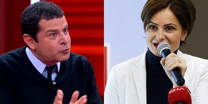 Cüneyt Özdemir, Canan Kaftancıoğlu'nu eleştiri yağmuruna tuttu!