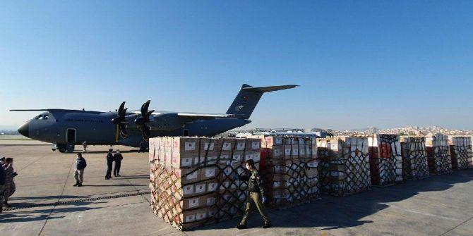 MSB açıkladı! Türkiye'den ABD'ye tıbbi yardım malzemeleri gönderiliyor