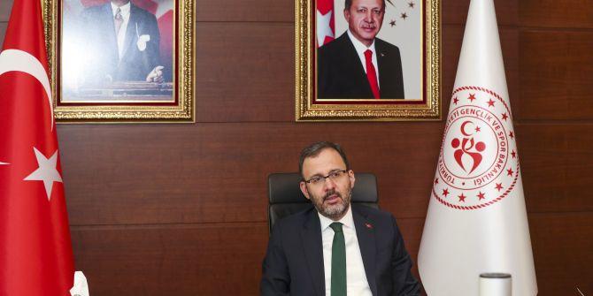 Bakan Kasapoğlu, Bakanlık yurtlarının müdürleriyle görüştü!
