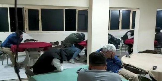Bursa'da dev kumar operasyonu! 17 kişiye 766 bin TL ceza kesildi