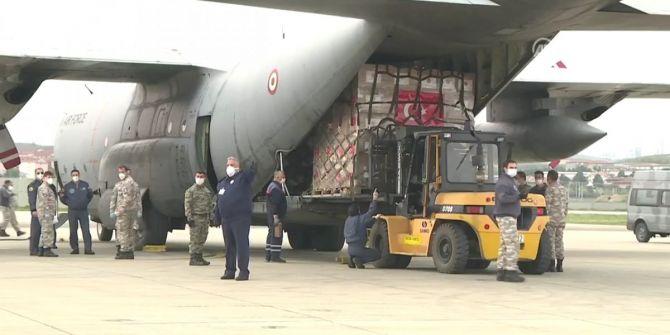 Türkiye'den ABD'ye ikinci tıbbı yardım uçakla gönderildi!