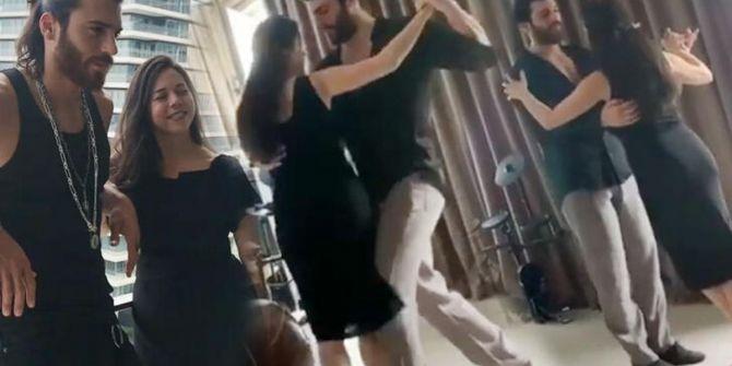 Can Yaman annesiyle tango yaptı! Paylaşıma beğeni yağmuru geldi
