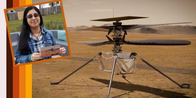 NASA'nın Mars'a göndereceği helikopterinin ismi bir lise öğrencisi tarafından koyuldu