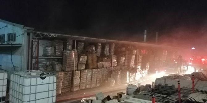 Tuzla'da dezenfektan fabrikasında korkutan yangın!