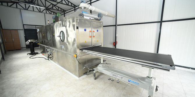 Otomatik cenaze yıkama makinesiyle artık cenazeler el değmeden yıkanacak!