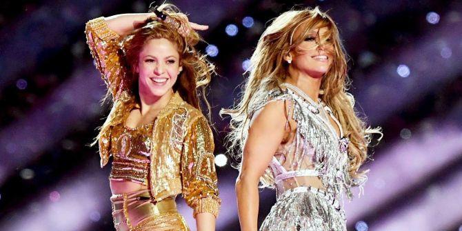 Super Bowl'daki Shakira - Jennifer Lopez dansının provası nefesleri kesti!