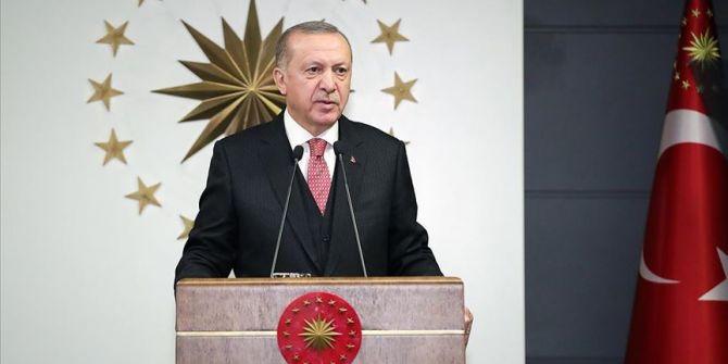 Cumhurbaşkanı Erdoğan'dan AB Komisyonu'na videolu mesaj!