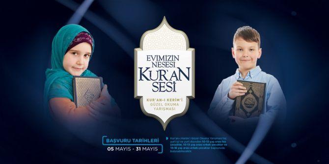 Diyanet'in düzenlediği Kur'an-ı Kerim'i Güzel Okuma Yarışması'nın başvuruları başladı!