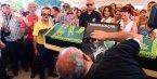 Harun Kolçak'ın Cenaze töreni kameraya yansıyan ilginç anlar!