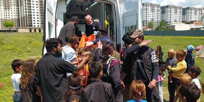 Bursa'da çocuklar arasında taşlı sopalı kavga! 4 yaralı
