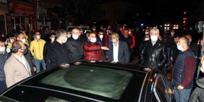 İbrahim Gökçek'in cenazesinde gergin dakikalar! Mahalleli sokağa döküldü