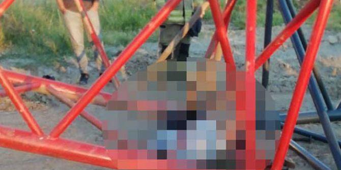 İzmir'de devrilen vincin altında kalan işçi hayatını kaybetti!