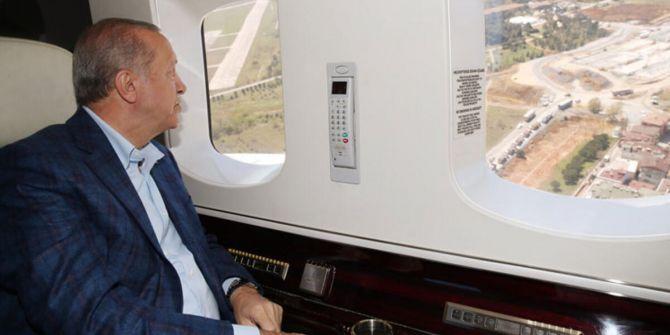 Cumhurbaşkanı Erdoğan, Sancaktepe'deki salgın hastanesini denetledi!