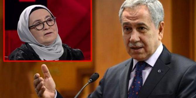 Bülent Arınç'tan canlı yayında ölüm listesi açıklayan Sevda Noyan'a sert tepki!