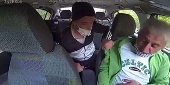 İstanbul'da korku dolu anlar! Taksici bıçak zoruyla gasp edildi