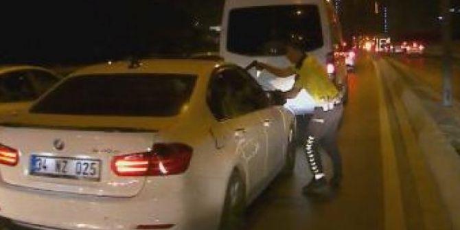 Polisin 'dur' ikazlarına aldırmadı! D-100 Karayolu'nda o kaçtı, polis kovaladı