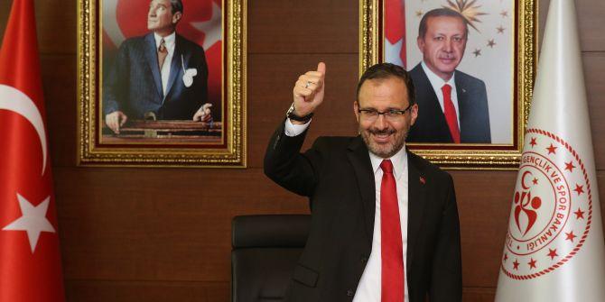 Bakan Kasapoğlu, Gençlik Haftası etkinlikleri kapsamında gençlerle görüştü!