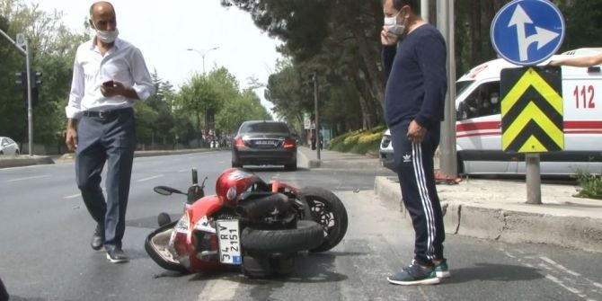 Ünlü çiğ köfteci Ömer Aybak'tan korkutan kaza!