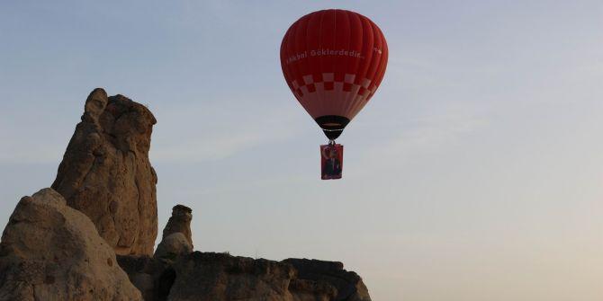 19 Mayıs'ta Kapadokya'dan Türkiye'nin ilk yerli balonu havalandı!