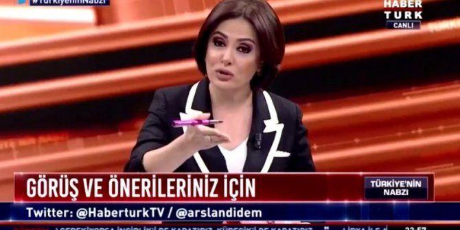 Habertürk'te skandal olay! Konuk, canlı yayında küfür etti