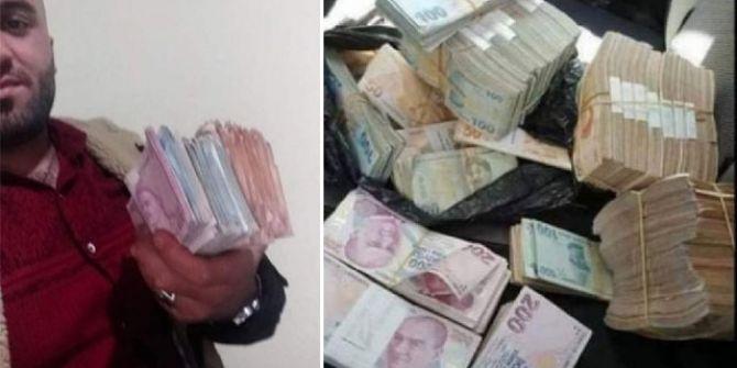 Soygun yaptığı paraları sosyal medyada paylaşan cezaevi firarisi yakalandı!
