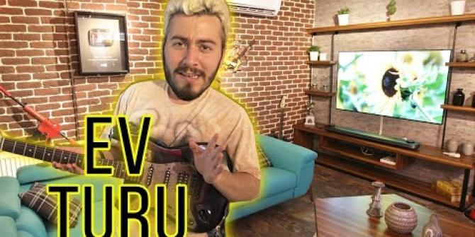 Enes Batur yeni evini tanıttı