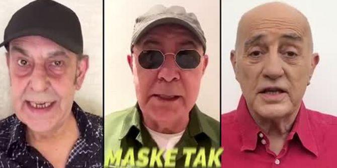 MFÖ'den ''Maske Tak'' şarkısı büyük ses getirdi!