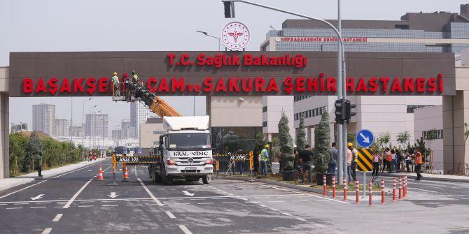 Başakşehir Çam ve Sakura Şehir Hastanesi bugün hizmete açılacak!