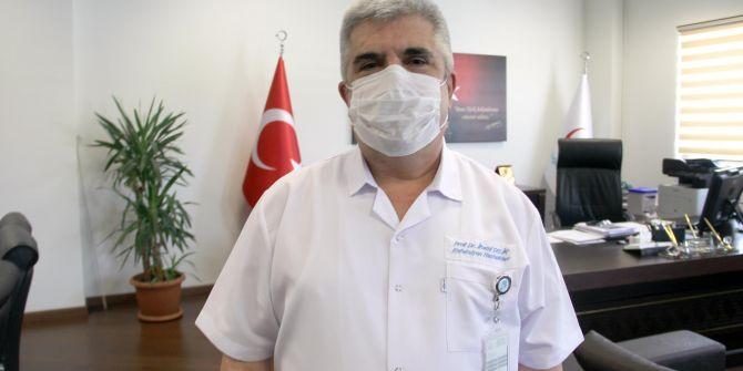 Bilim Kurulu Üyesi İlhami Çelik: ''Sıcak artışı virüsün bulaşmasını azaltır''