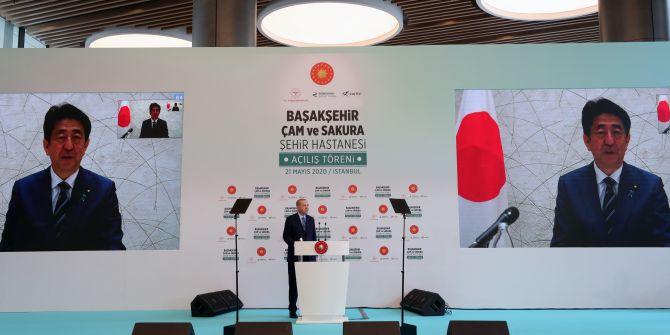 Cumhurbaşkanı Erdoğan, Başakşehir Çam ve Sakura Şehir Hastanesi açılışında konuştu!