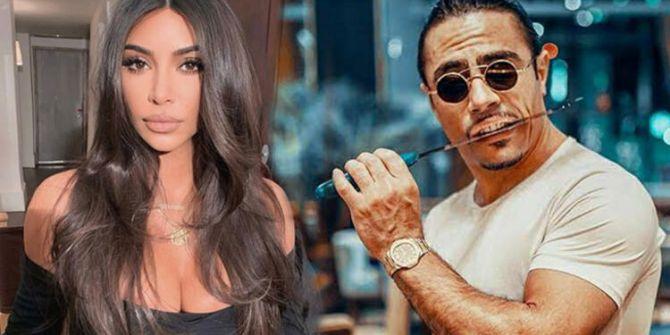 Kim Kardashian'ın lahmacun yorumuna Nusret'ten gönderme!