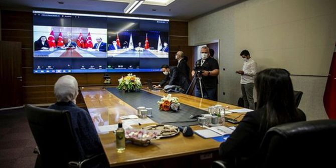 Siyasi partiler koronavirüs nedeniyle video konferans ile bayramlaştı!