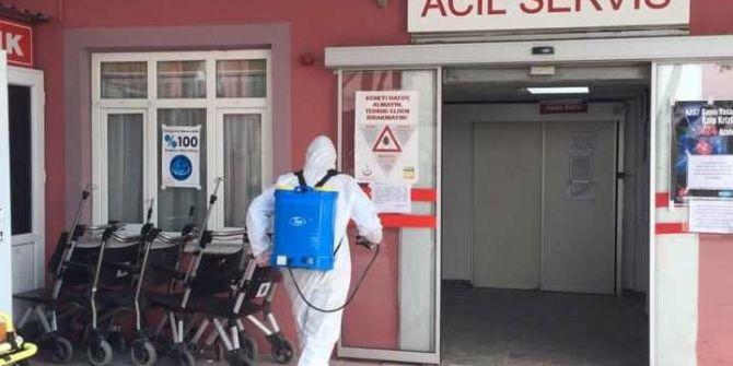 Manisa'da COVİD-19 testi pozitif çıkan çalışan sayısı artınca hastahane kapatıldı!